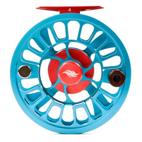 Allen Alpha III Fly Fishing Reel Aquamarine 1