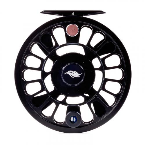 Allen Alpha III Fly Fishing Reel Matte Black 1