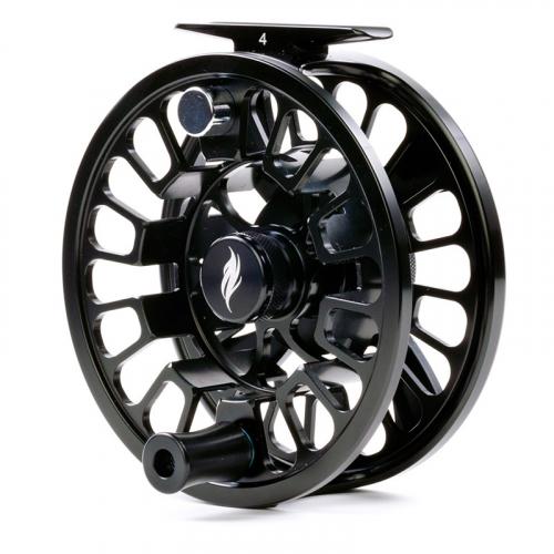 Allen Alpha III Fly Fishing Reel Matte Black 2