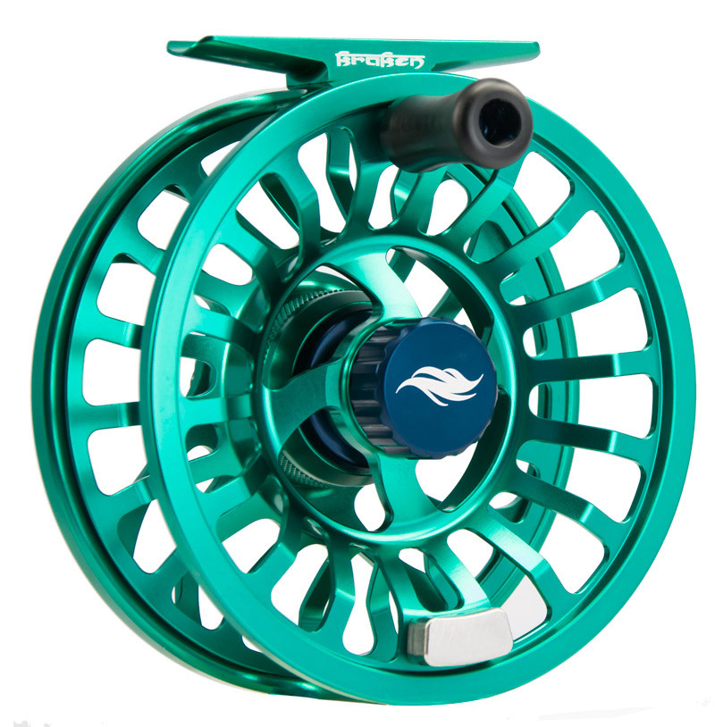 Allen Kraken Fly Fishing Reel Emerald 2