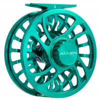 Allen Kraken Fly Fishing Reel Emerald 3