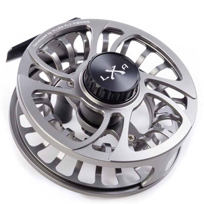 Allen Kraken XLA Fly Fishing Reel Gunsmoke 2
