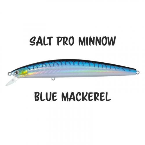 Daiwa Salt Pro Minnow 24 Blue Mackerel