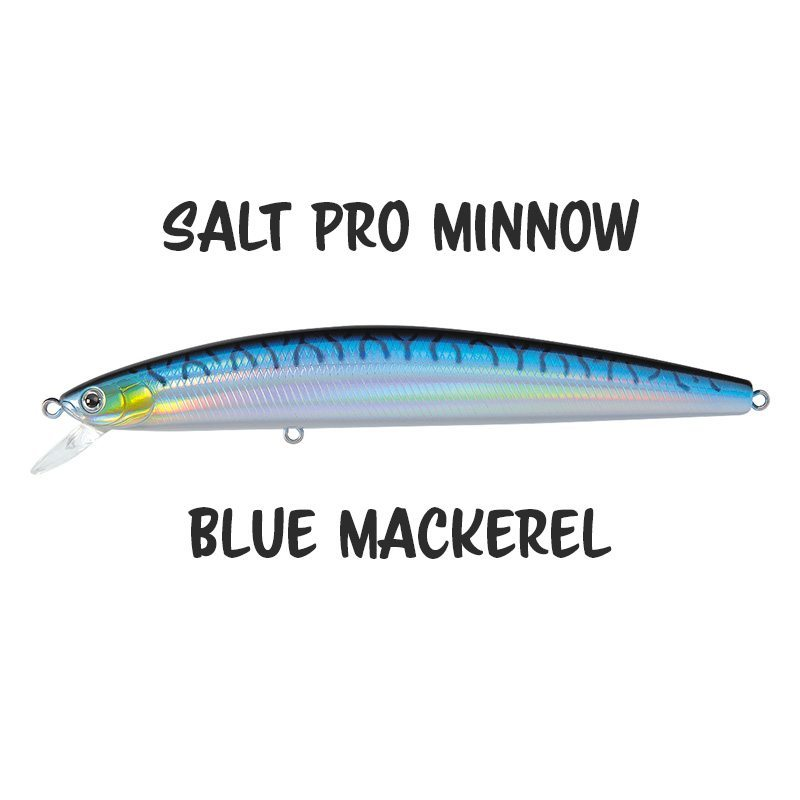 Daiwa Salt Pro Minnow 24 Blue Mackerel