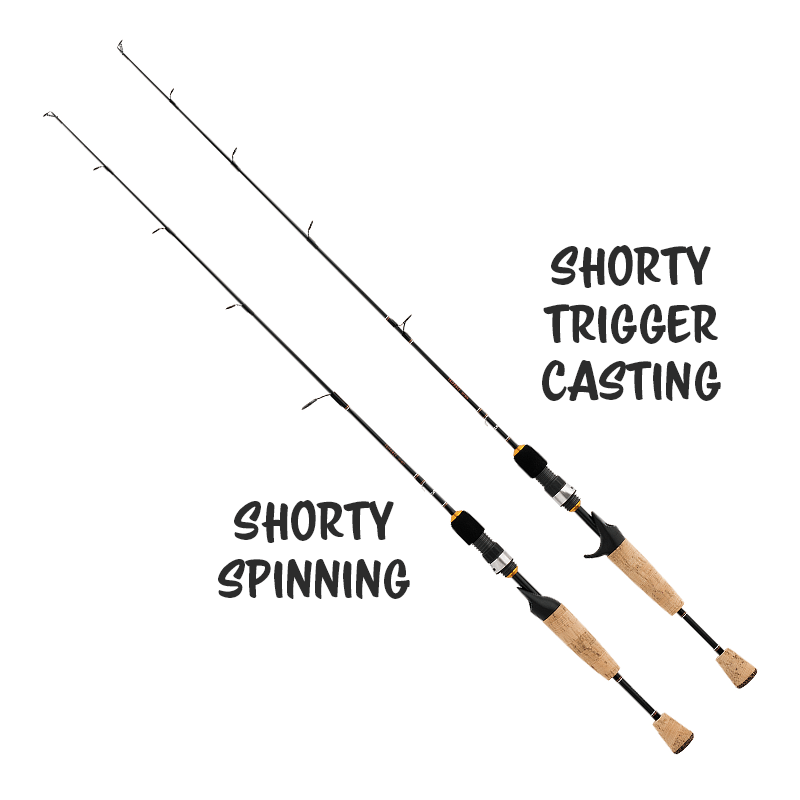 Daiwa Triforce Shorty Rods