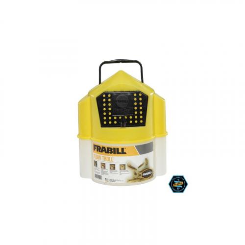 Frabill 4501 Flow Troll 6 Quart Bait Bucket