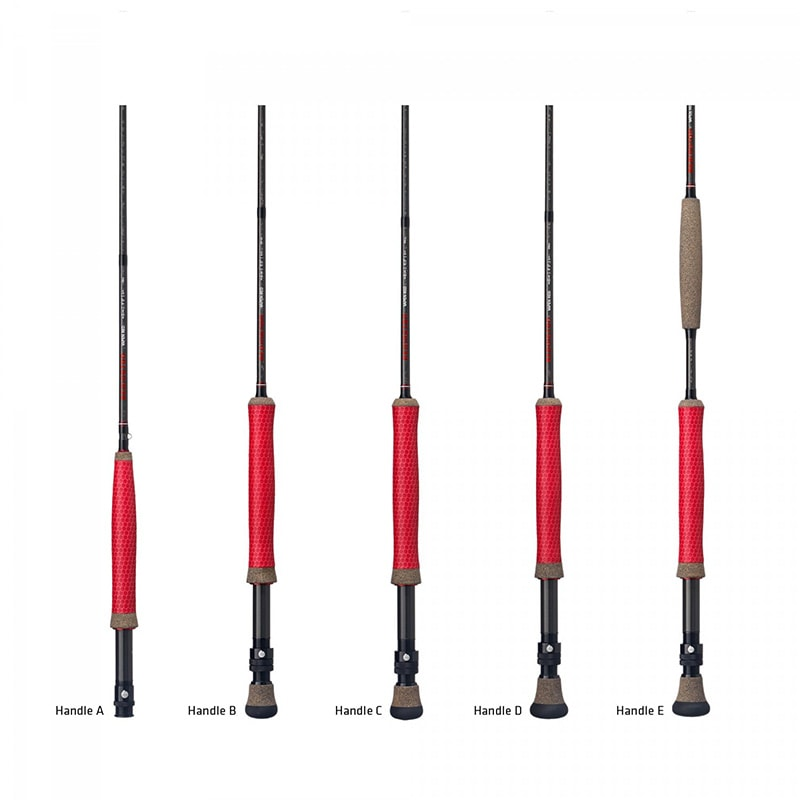 Redington Vapen Red Handles