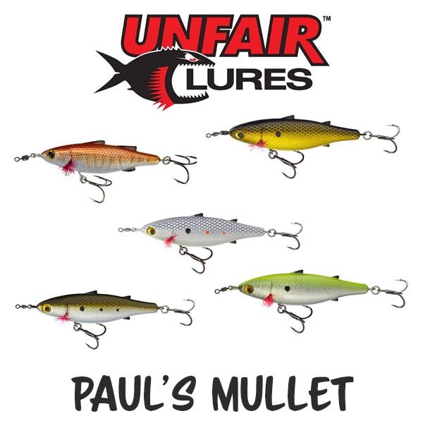 Unfair Lures Pauls Mullet
