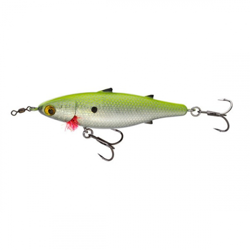 Unfair Lures Pauls Mullet PDM70 07 Pearl Chartreuse