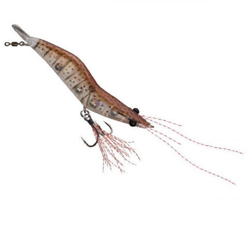 Unfair Lures Pauls Rattlin Shrimp 03 Natural Brown
