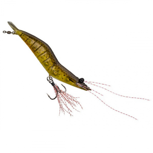 Unfair Lures Pauls Rattlin Shrimp 05 Pale Yellow