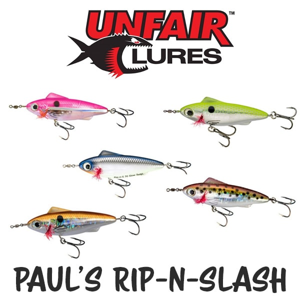 Unfair Lures Pauls Rip N Slash