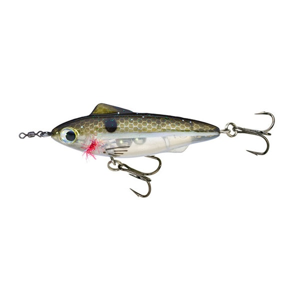 Unfair Lures Pauls Rip N Slash 05 Olive Ghost