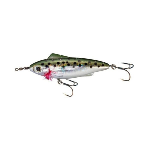 Unfair Lures Pauls Rip N Slash 22 Olive Trout