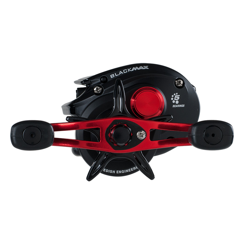 Abu Garcia Black Max Low Profile Baitcasting Reel Left Hand Retrieve