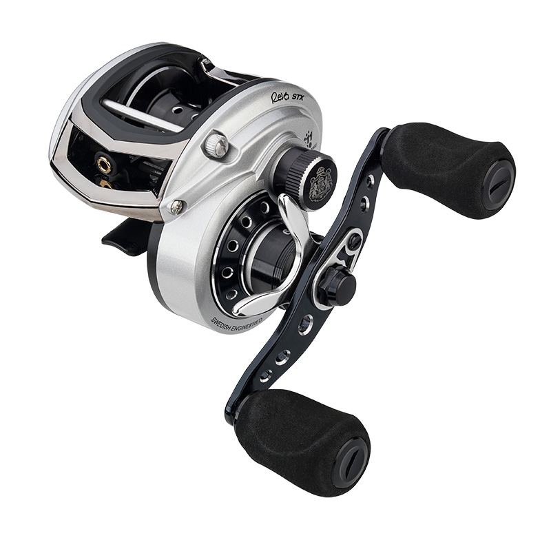 Abu Garcia Revo STX Low Profile Baitcast Reel Left Hand Retrieve