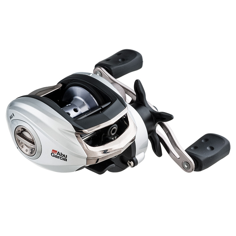Abu Garcia Silver Max Low Profile Baitcasting Reel Left Hand Retrieve