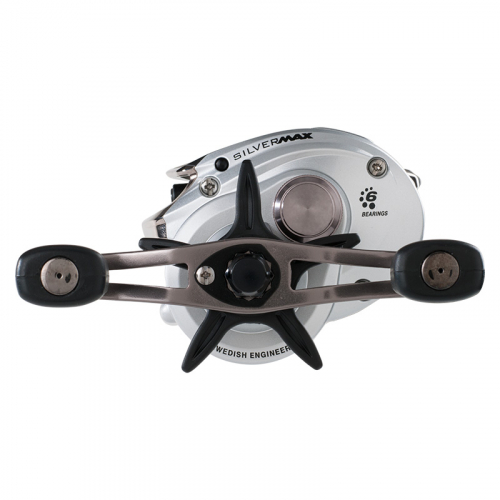 Abu Garcia Silver Max Low Profile Baitcasting Reel Left Hand Retrieve 2