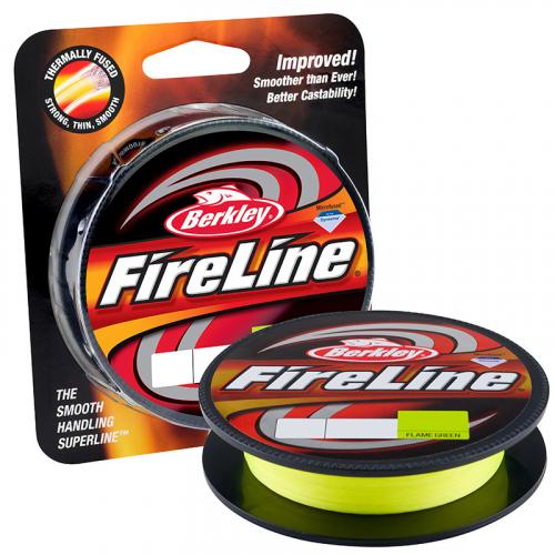 Berkley Fireline Fused Original Superline Flame Green