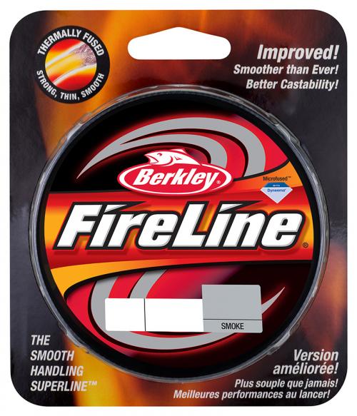 Berkley Fireline Fused Original Superline Smoke