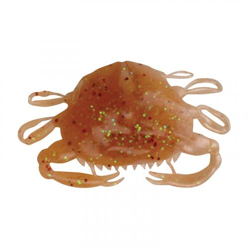 Berkley Gulp Alive 2in Peeler Crab Amber Glow