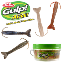 Berkley Gulp Alive 3in Shrimp Assortment Pint Bucket