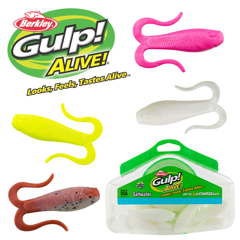 Berkley Gulp Alive Doubletail Swimming Mullet - Roy's Bait and Tackle  Outfitters