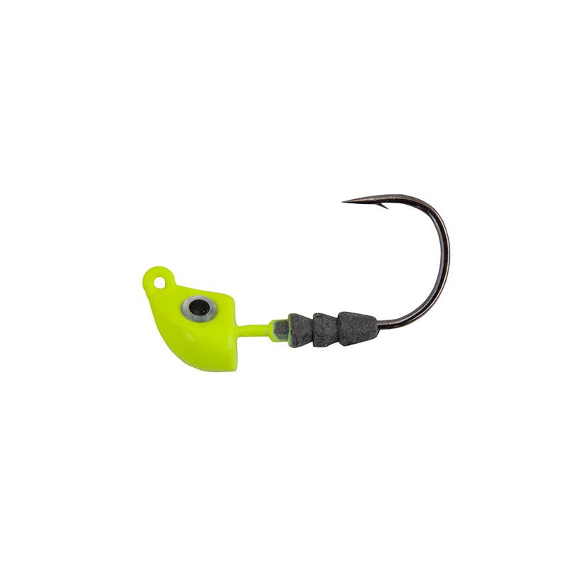 Berkley Gulp Darter Jigghead Chartreuse