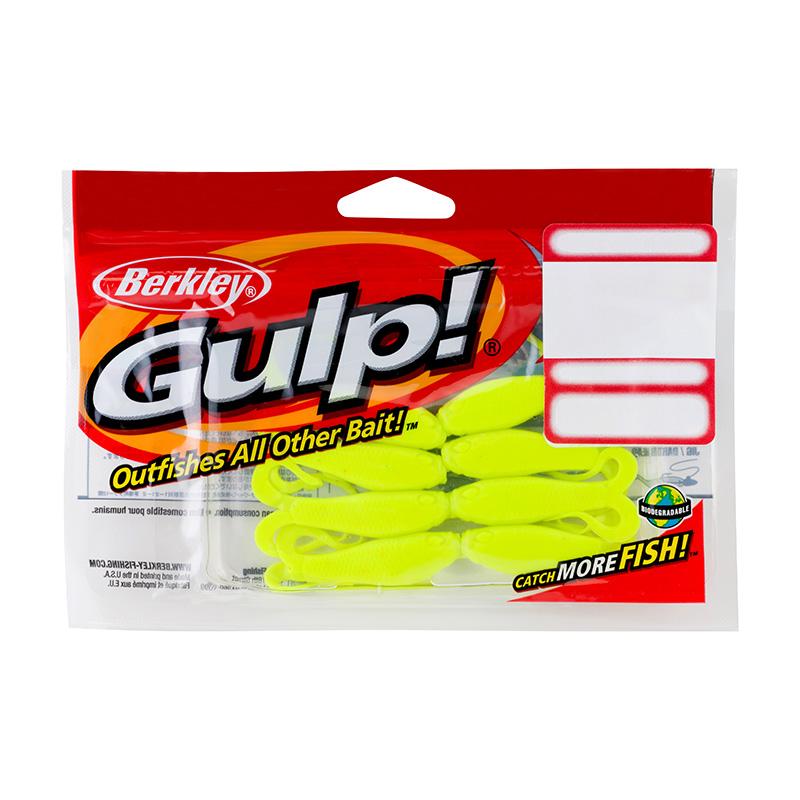 Berkley Gulp Doubletail Minnow Grub 8 Count Package