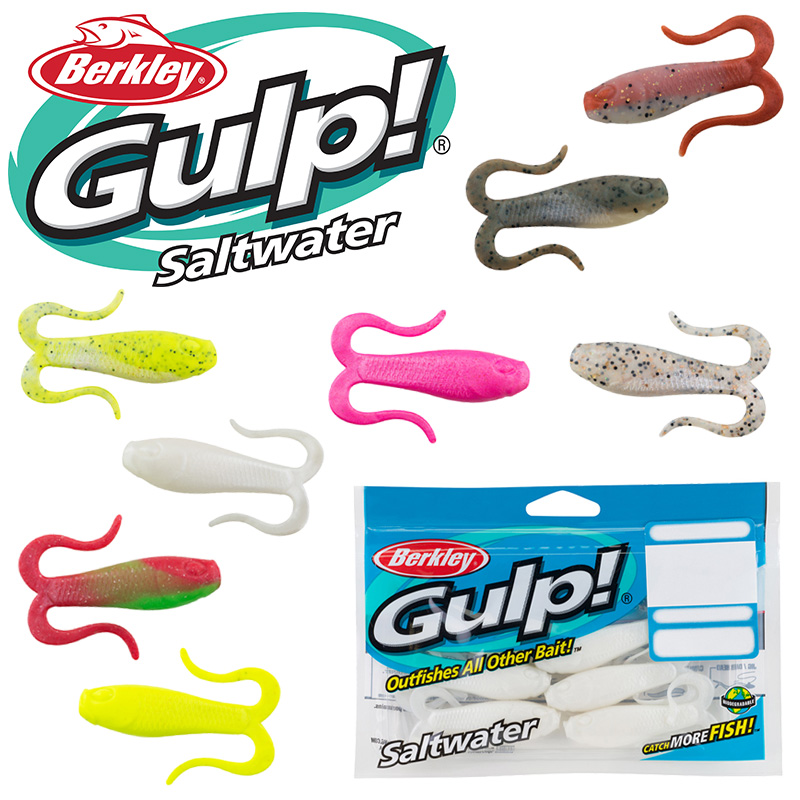 Berkley Gulp Doubletail Swimming Mullet