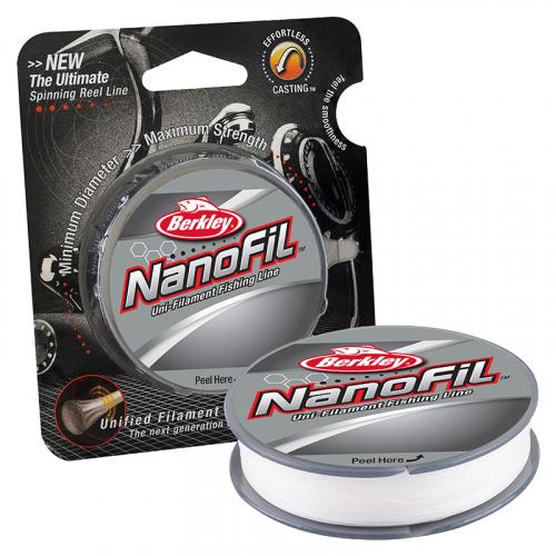 Berkley Nanofil Unifilament Line Clear Mist 150 yd Spool