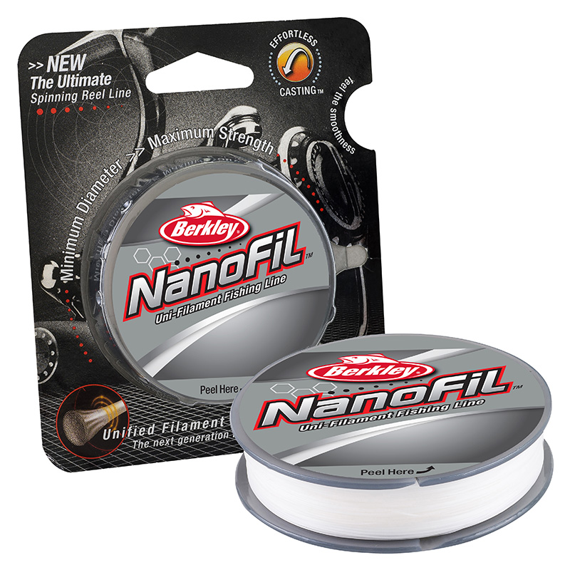 Berkley Nanofil Unifilament Line Clear Mist 150 yd Spool