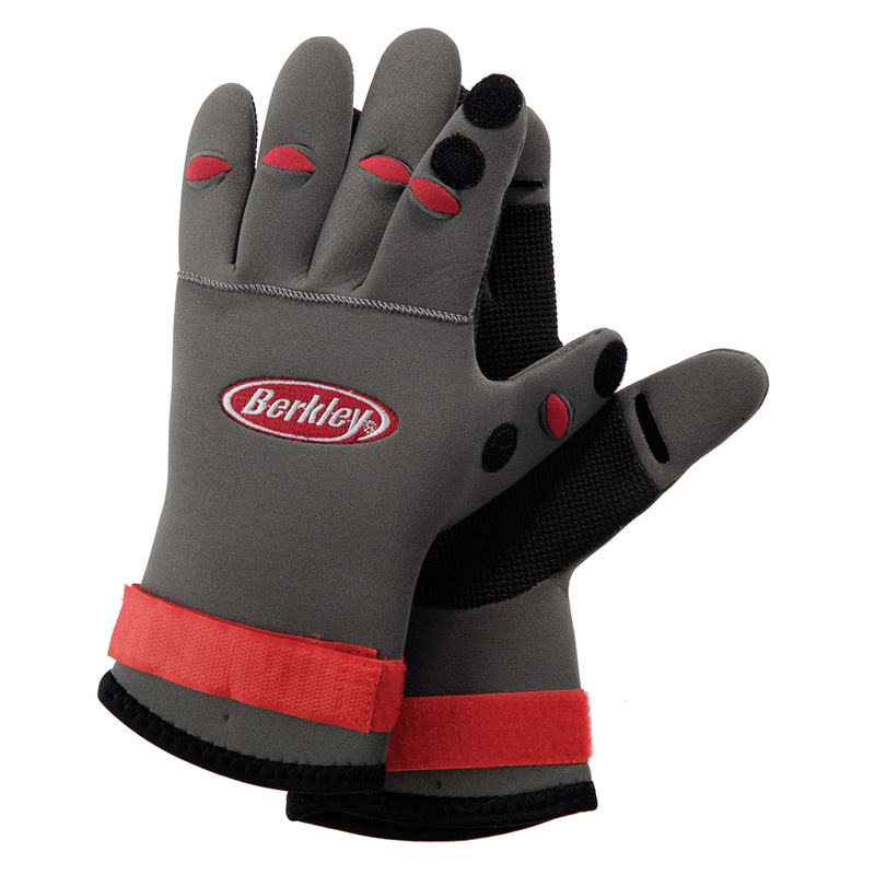 Berkley Neoprene Fishing Gloves BTNFGG