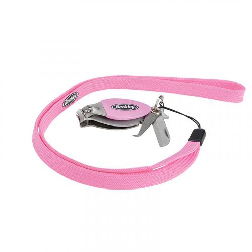 Berkley Pink Stainless Steel Line Clippers BTLSSC