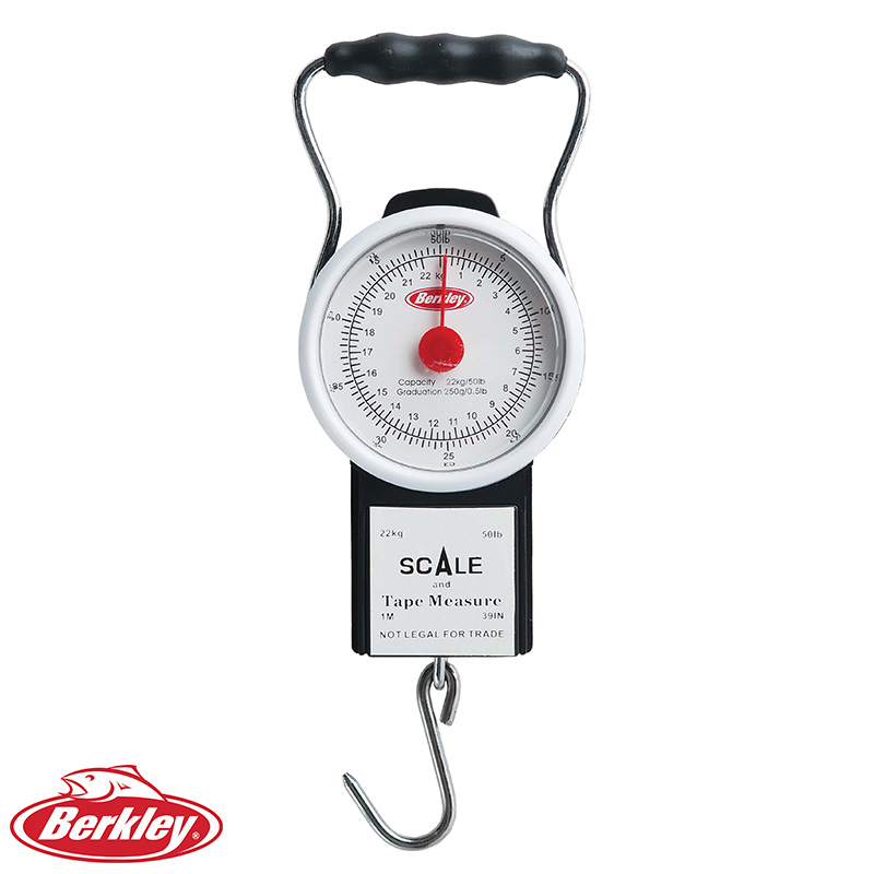 Berkley Portable 50 Pound Scale With Tape BTFST50