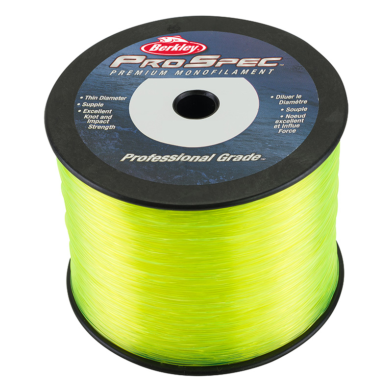 Berkley Prospec Professional Grade Mono 1lb Spool Fluorescent Yellow
