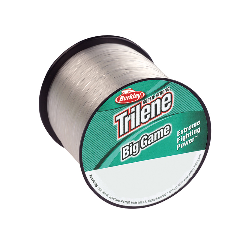 Berkley Trilene Big Game Mono Bulk Spool Clear