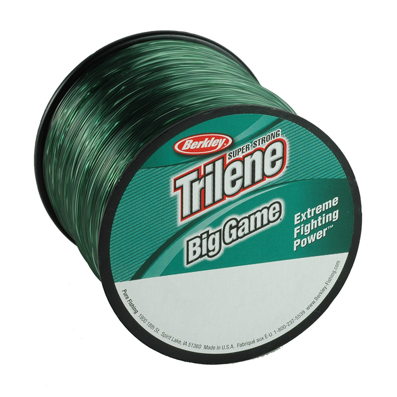 Berkley Trilene Big Game Mono Bulk Spool Green