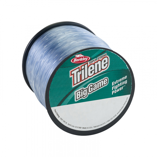 Berkley Trilene Big Game Mono Bulk Spool Steel Blue