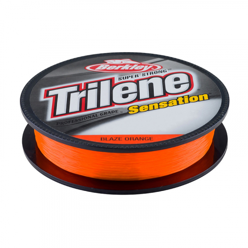 Berkley Trilene Sensation Monofilament Line Blaze Orange Filler Spool