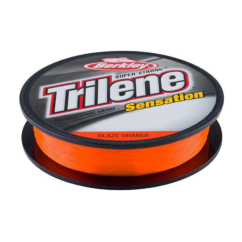 Berkley Trilene Sensation Monofilament Line Blaze Orange Filler Spool