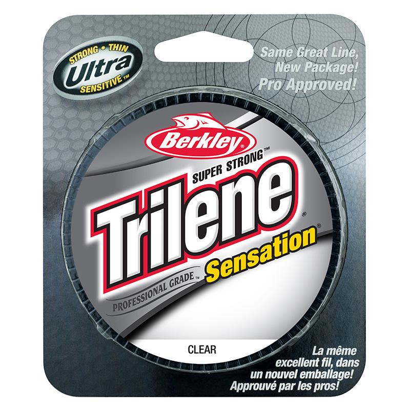 Berkley Trilene Sensation Monofilament Line Clear