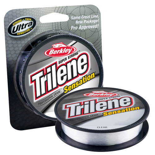 Berkley Trilene Sensation Monofilament Line Clear Package