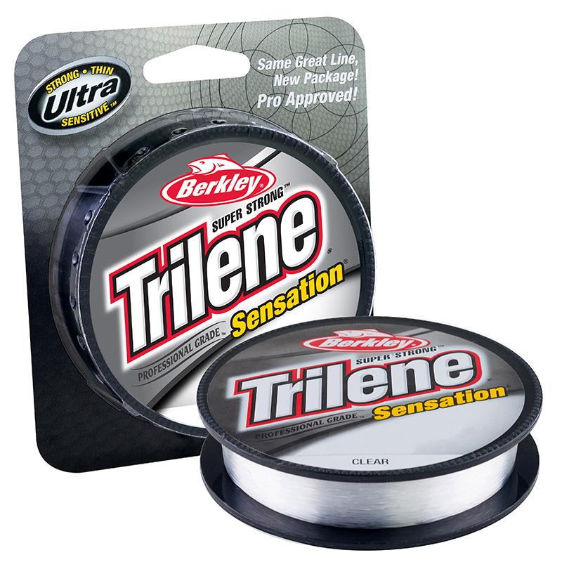 Berkley Trilene Sensation Monofilament Line Clear Package