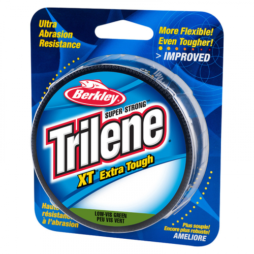 Berkley Trilene Xt Extra Tough Mono Low Vis Green Filler Spool