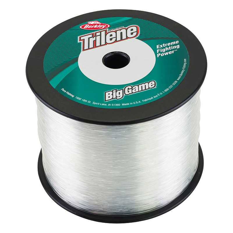 Berkley Triline Big Game Mono 1lb Bulk Spool Clear