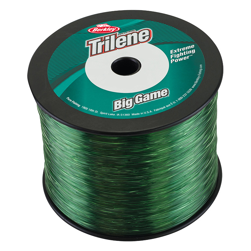 Berkley Triline Big Game Mono 1lb Bulk Spool Green