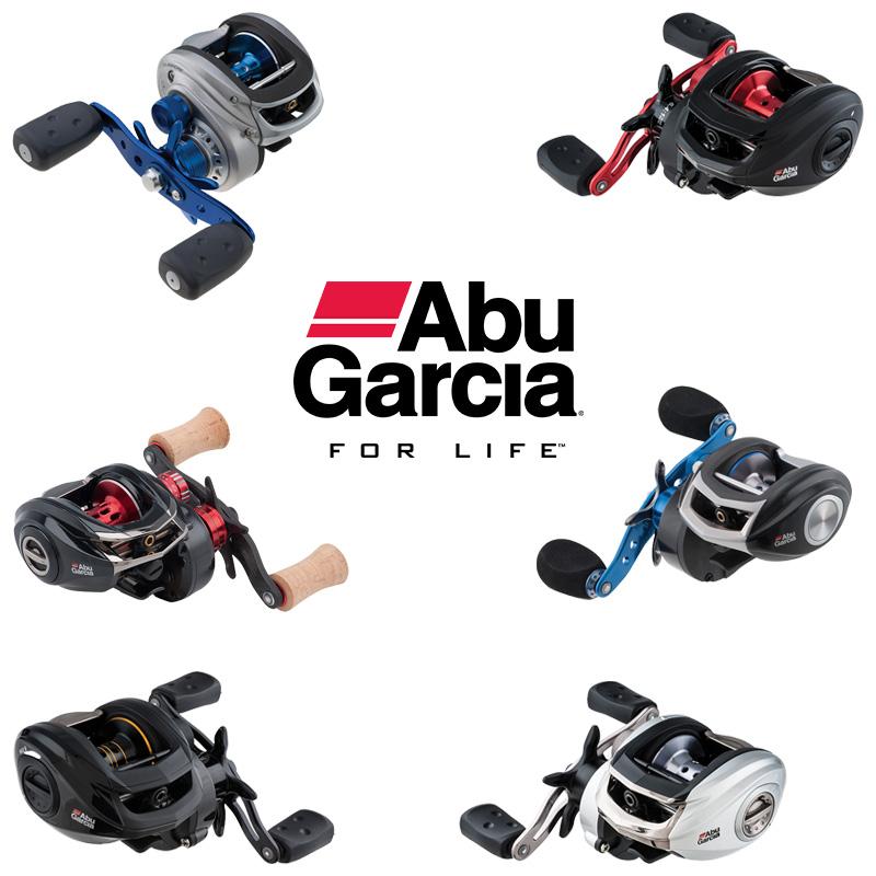 Abu Garcia Low Profile Baitcasting Reels