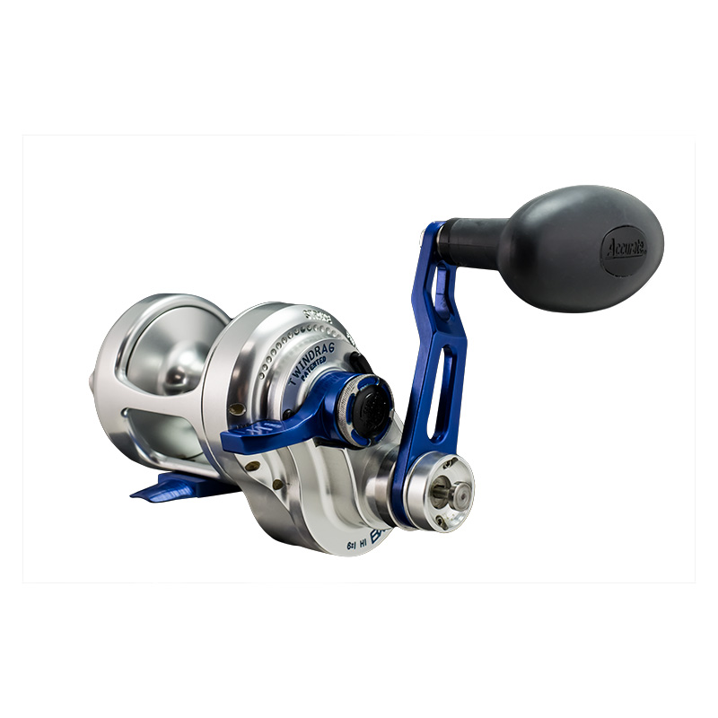 Accurate Boss Extreme Two Speed Baitcasting Reel Bx2-400bls
