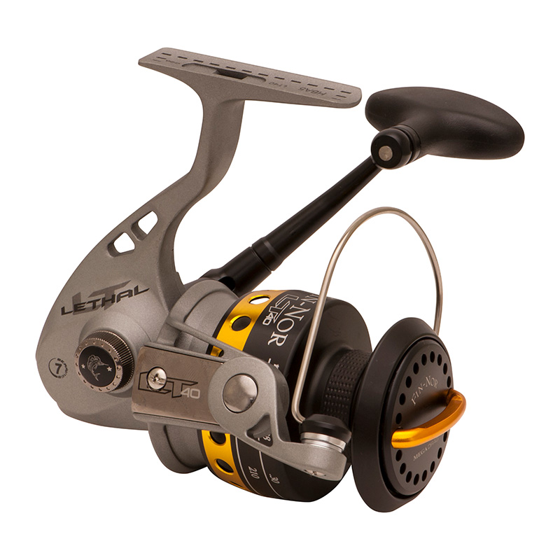 FIN-NOR LETHAL SPINNING REEL LT40